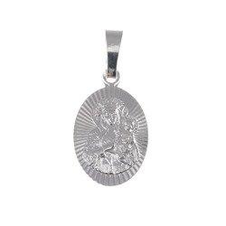 M43 Medalik srebrny - Matka Boska Częstochowska