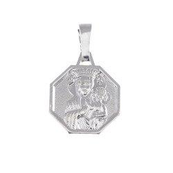 M48 Medalik srebrny - Matka Boska Częstochowska