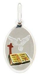 Medalik srebrny (1,6 g) - Duch Święty MK030
