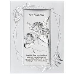 Obrazek srebrny Aniołek Twój Anioł Stróż DS02FO