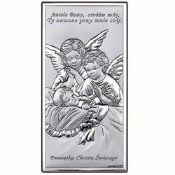 Obrazek srebrny Aniołki 6468S