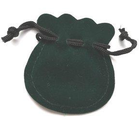 Pudełko woreczek ściągany 60x65 mm kolor zielony P1/ZIEL  PUDEŁKO
