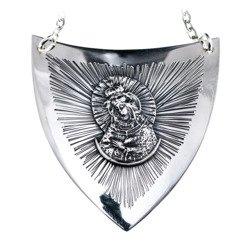 Ryngraf srebrny 925 Matka Boska Ostrobramska R12