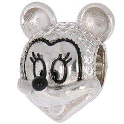 Srebrna przywieszka pr 925 Charms Myszka Minnie cyrkonie PAN020