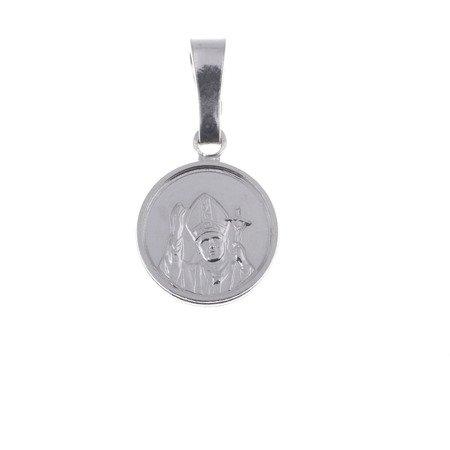 M107 Medalik srebrny - Święty Jan Paweł II