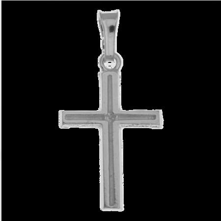 Medalik srebrny - Krzyżyk MO135