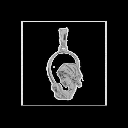 Medalik srebrny - Matka z dzieciątkiem MO008