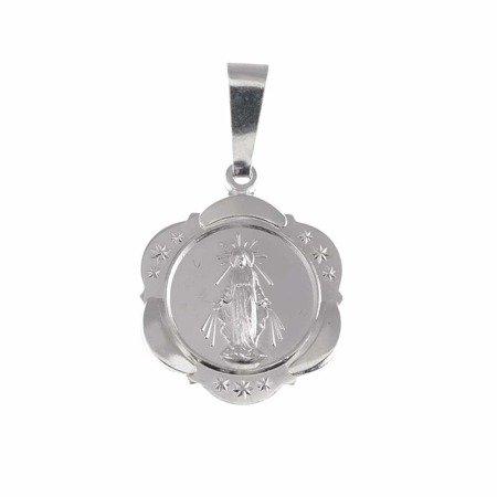 Medalik srebrny - Matki Bożej Niepokalanej Cudowny Medalik M009